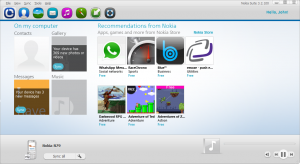 Nokia Suite 3.8.48 for Windows 7