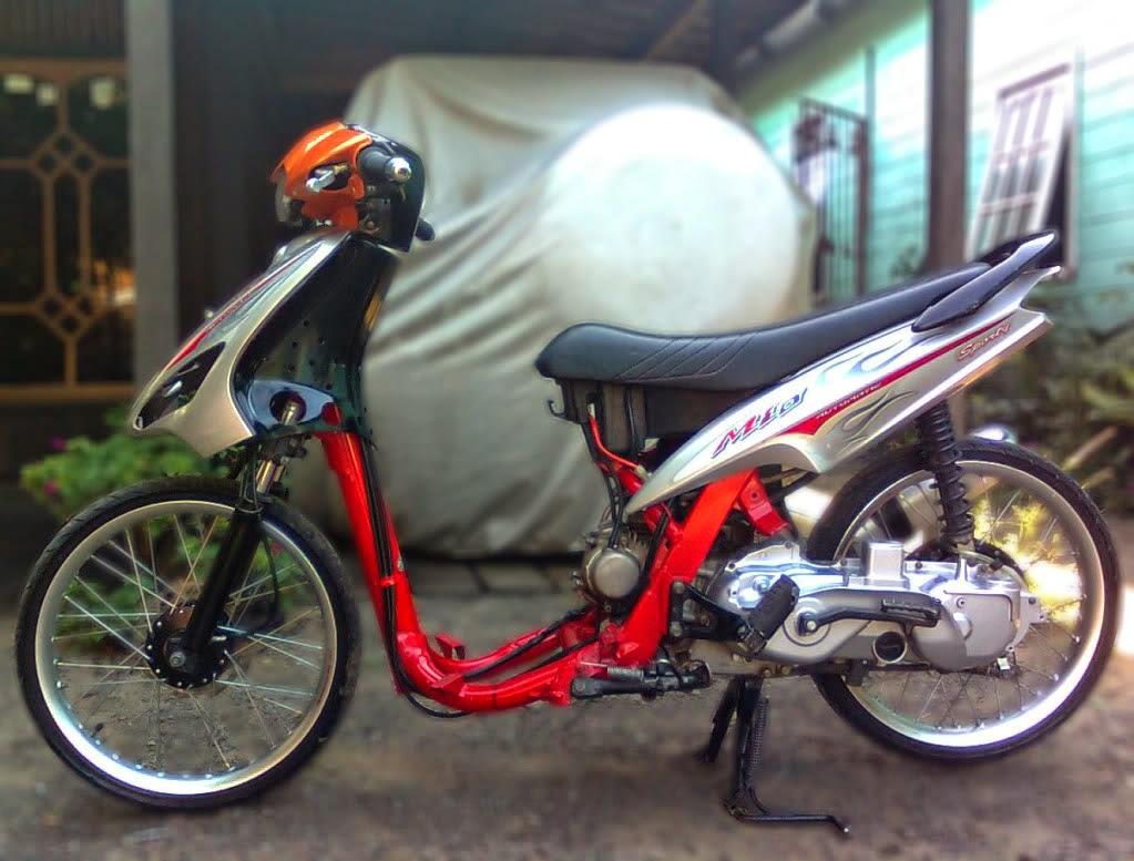 Gambar Foto Modifikasi Motor Yamaha Mio Full Lengkap