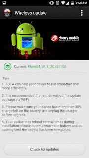 Cherry Mobile Flare S4 OTA