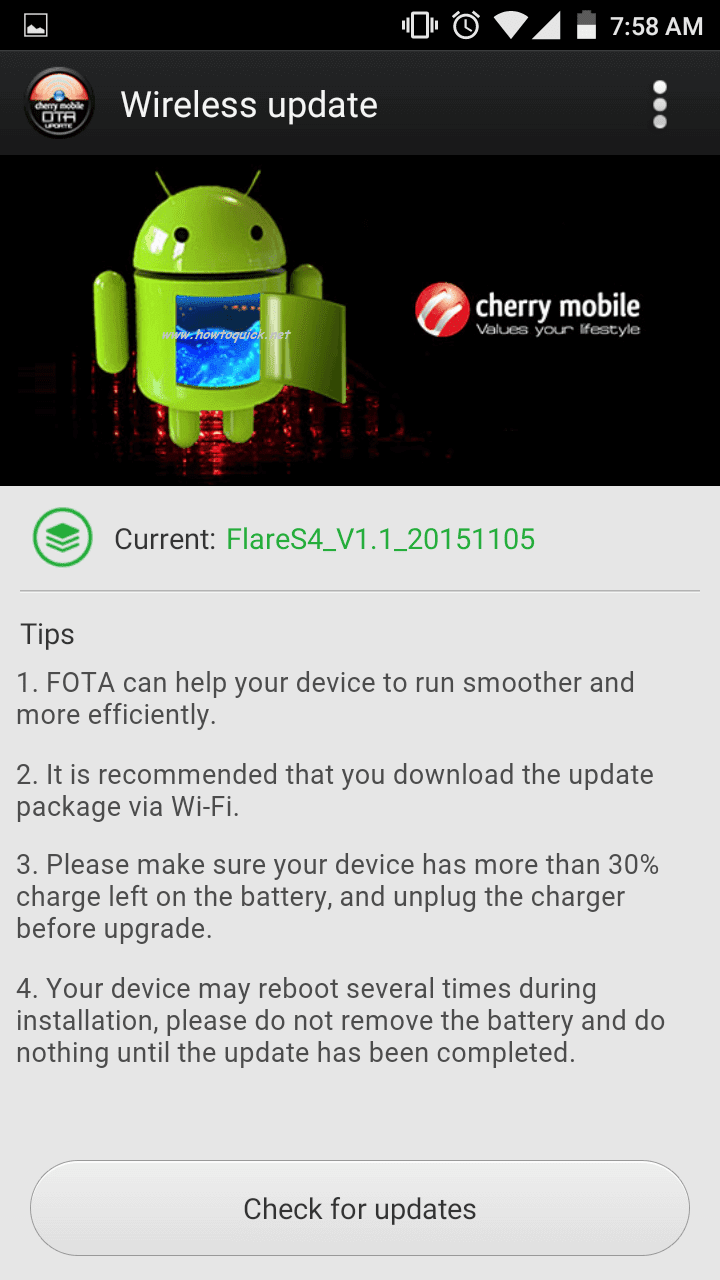 Cherry Mobile Flare S4 gets OTA Update for Camera Issue Fix