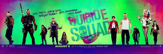 Nuevo y colorido banner de 'Escuadrón Suicida' ('Suicide Squad')