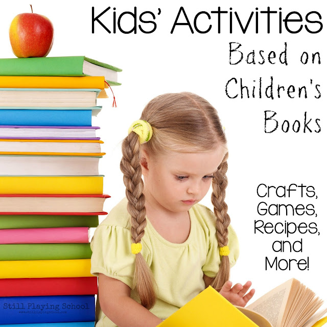 Crafts, activities, and games based on children's books