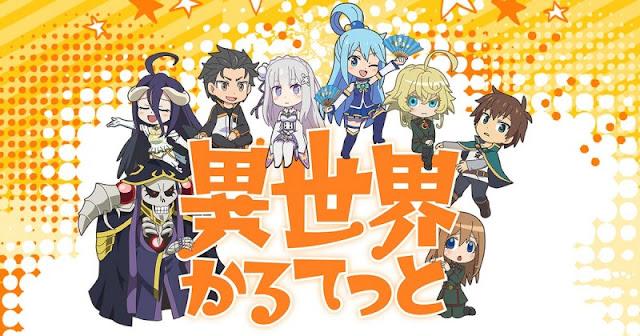 Proyek Anime Isekai Terbaru Oleh Kadokawa Dimana Semua Jagoan Isekai Berkumpul!