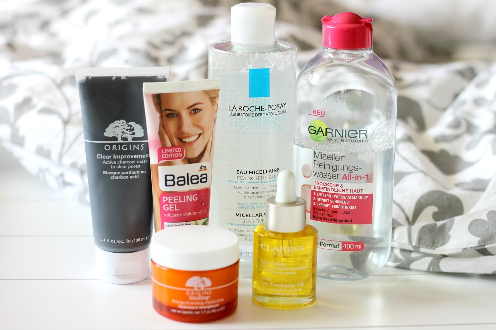 Combination skin clearing skincare routine