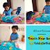 Kid-Friendly Chores: Teach your Son to Fold the cloths #ShareTheLoad
