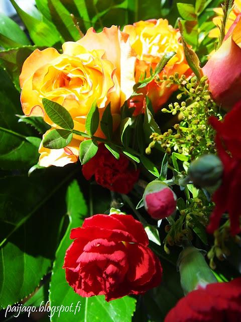 neilikat ja ruusut
