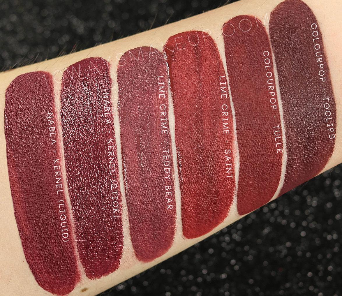 Nabla Kernel Dreamy Matte Liquid Lipstick swatch