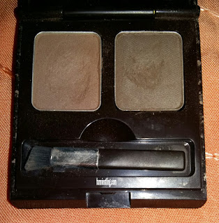 Skin Food Choco Eyebrow Powder Cake ketika dibuka