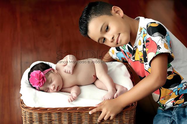 fotos de newborn em familia