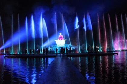 Wisata Keluarga Air Mancur Sri Baduga Purwakarta