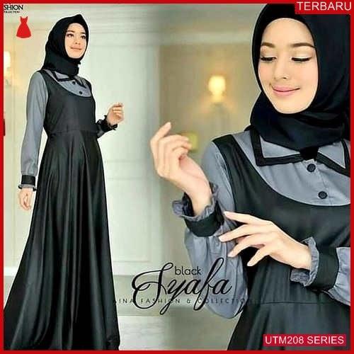 UTM208S76 Baju Syafa Muslim Maxi UTM208S76 0D0 | Terbaru BMGShop