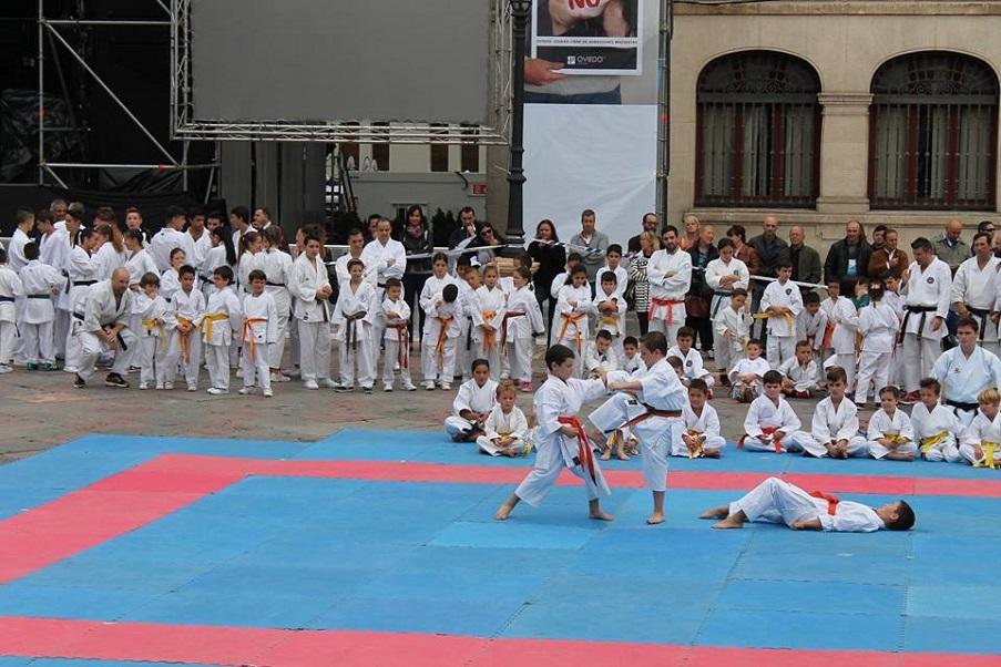 Karate shito ryu asturias el gimnasio yin yang y el for Gimnasio yin yang
