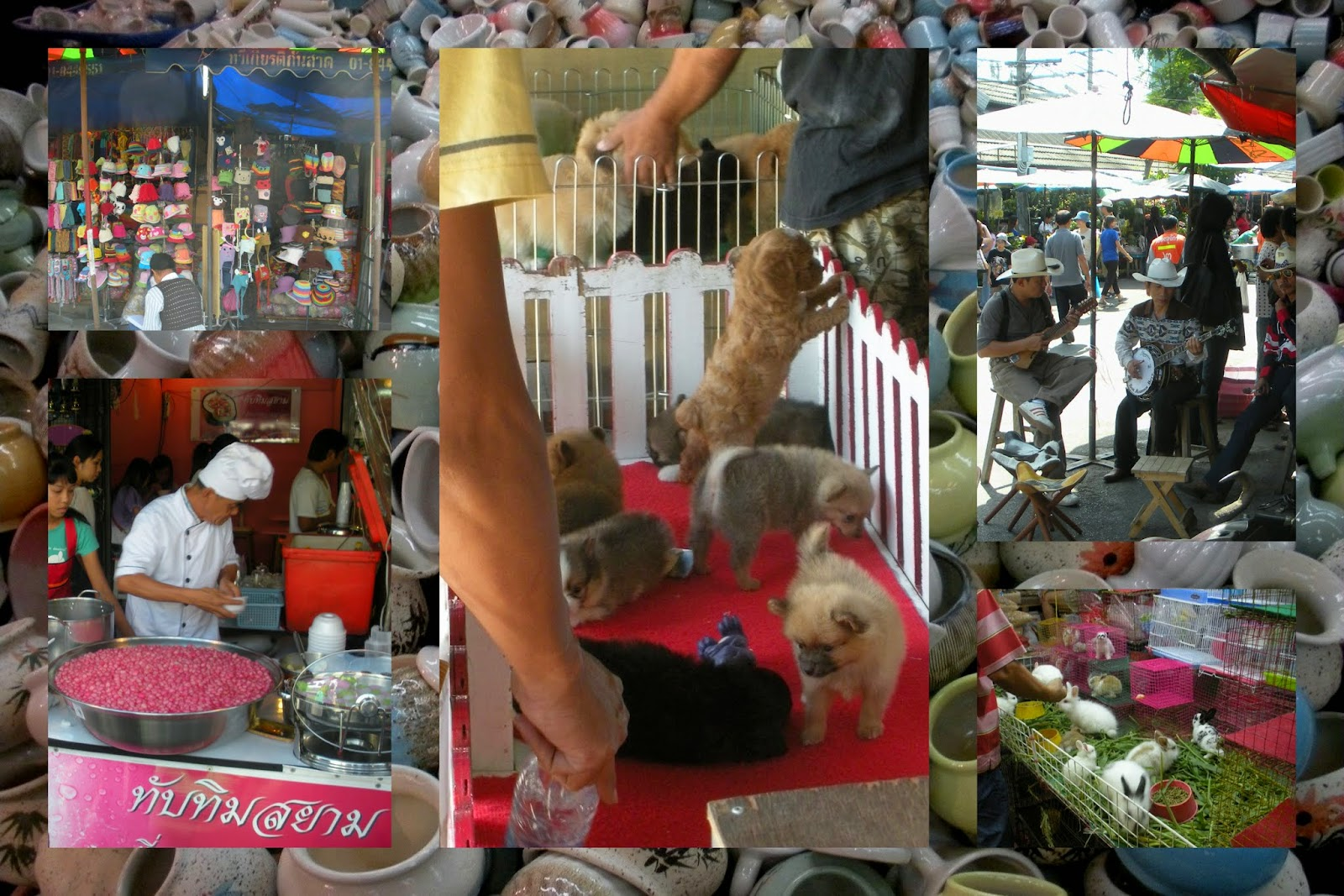 Chatachuk Weekend Market - Bangkok