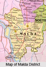 Map of Malda