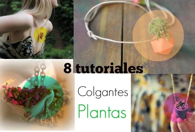 colgantes, plantas, flores,bisutería, gargantillas,manualidades mágicas