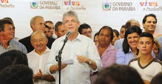 Em ano de Eleições Governador assina ordem de serviço da rodovia que liga Picuí a Carnaúba dos Dantas