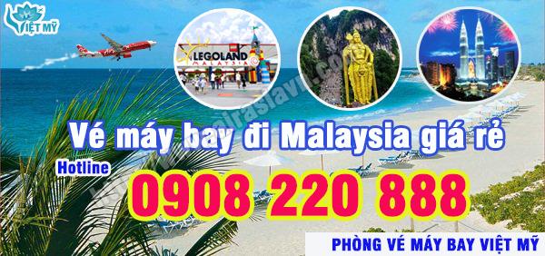 Đặt mua vé máy bay đi Malaysia giá rẻ