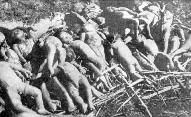 30 Childrens under 3 years of age massacred by Greeks in Chameria in June 1944