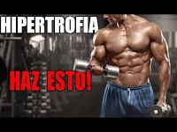 La Hipertrofia es el objetivo de muchas personas que asisten al gimnasio pues consiste en ejecutar una Rutina acorde para aumentar la Masa Muscular.