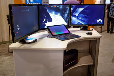 Multi-monitor-Thunderbolt-demo