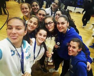 Τα κορίτσια της αναπτυξιακής έκλεψαν τις εντυπώσεις ,  μεγάλη εμφάνιση και ήττα 50-49 από το ACS στον τελικό