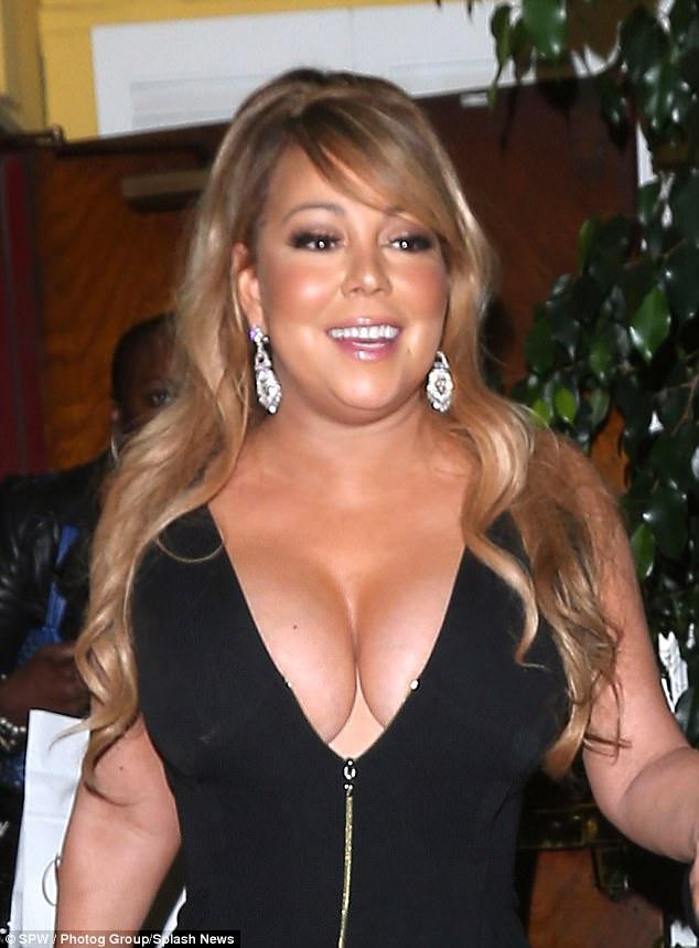 More Photos After The Cut Mariah Carey Boobs