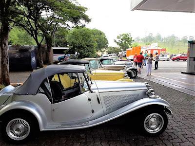 Oposto de combustíveis do quilômetro 28 da Rodovia dos Bandeirantes é bem conhecido daqueles que prestigiam os eventos do Clube MP Lafer Brasil.