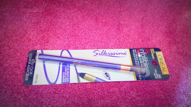 L'oreal Paris Infallible Silkissime Eyeliner 240 Pure Purple