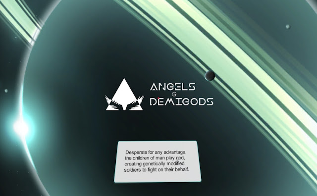 Game Visual Novel Angels & Demigods APK