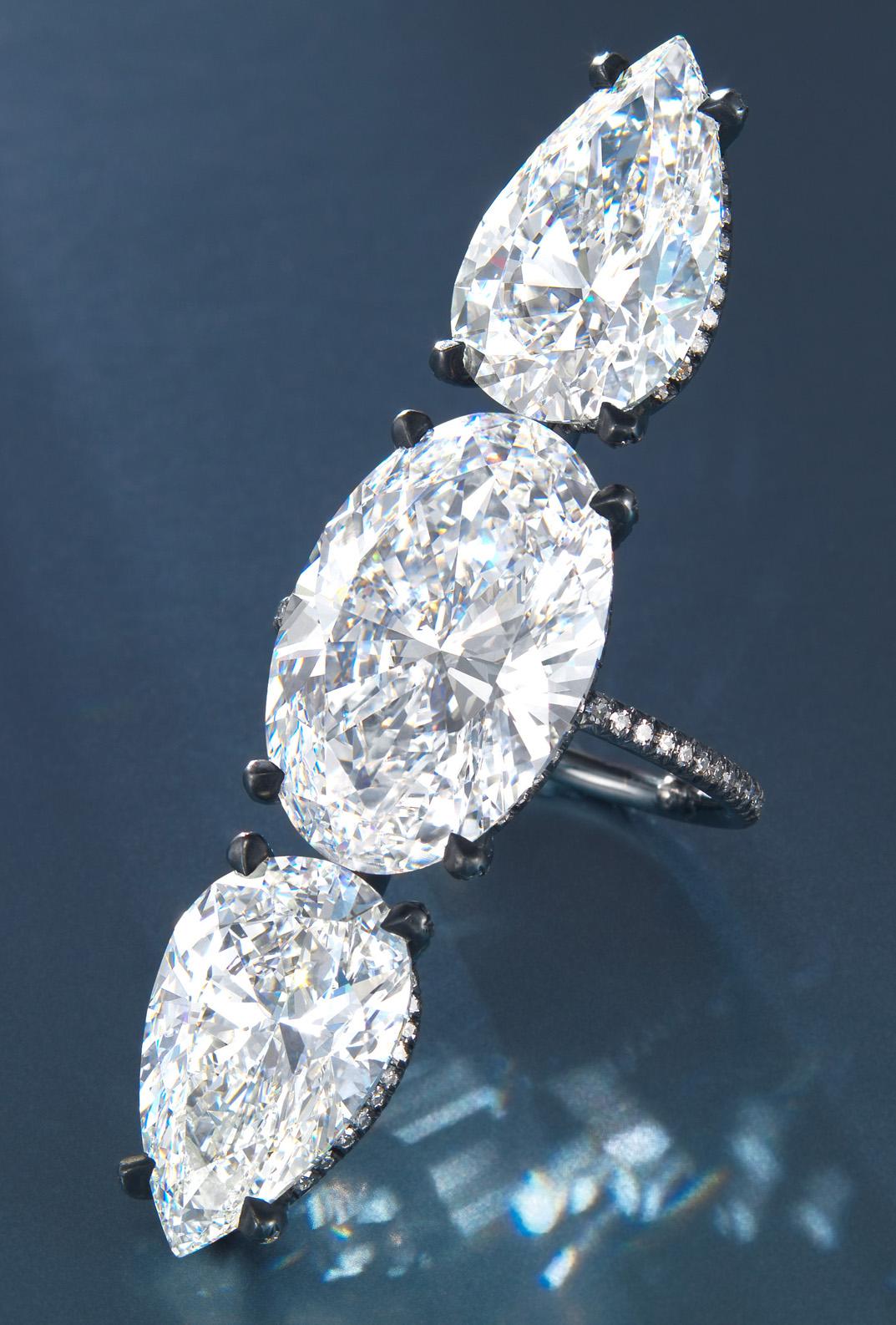 Jewelry News Network Jar Diamond Ring 6 Carat Burmese