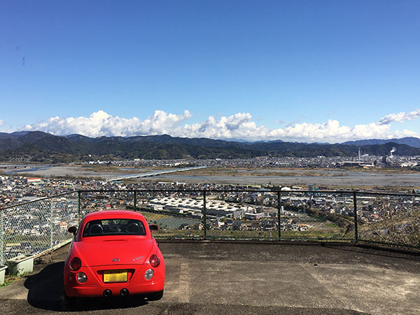 静岡県島田市にある静岡屈指の絶景が楽しめるレストラン『カンサー』からの眺め