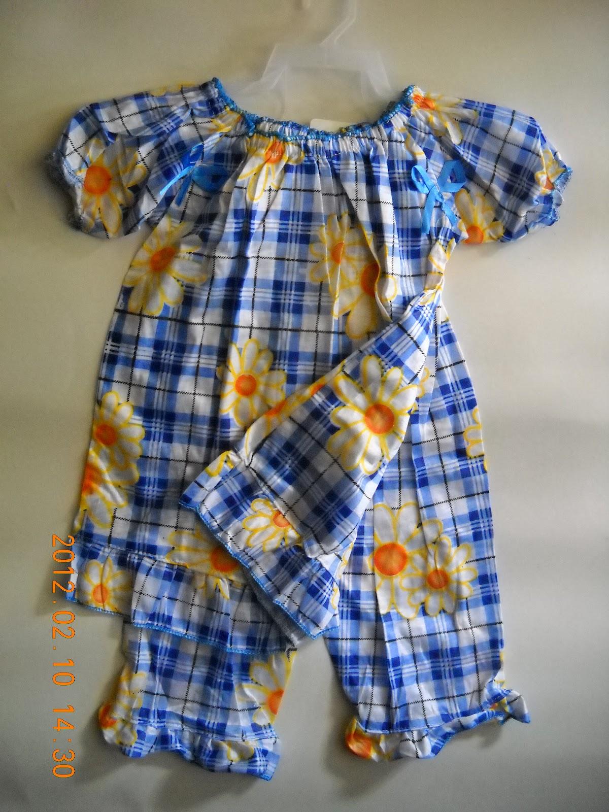 Baju Tidur Kanak2 Untuk Umur 1 2 Tahun Harga Rm10 Sepasang Borong Rm6 Moq 12 Helai Warna Saiz Campur2 Tidak Termasuk Pos