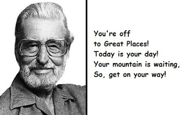 """Dr. Seuss Quotes: Mountain is waiting"""