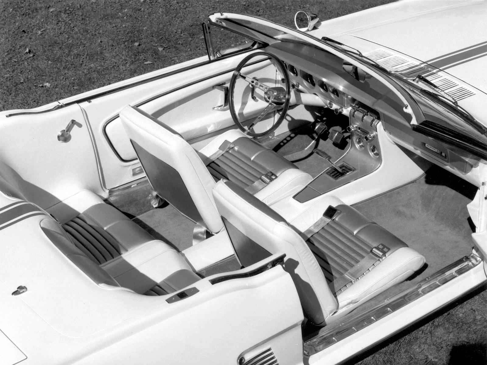 1963 Mustang Ii Concept