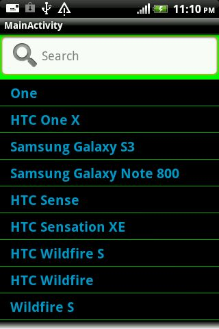 Custom Listview In Android