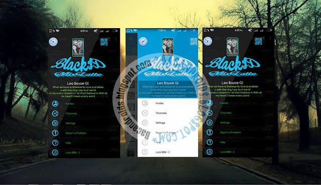 download BBM2 Mod Clone Tema BlackID Mixlate Terbaru Apk
