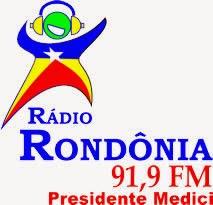 Rádio Rondônia FM de Presidente Médici ao vivo