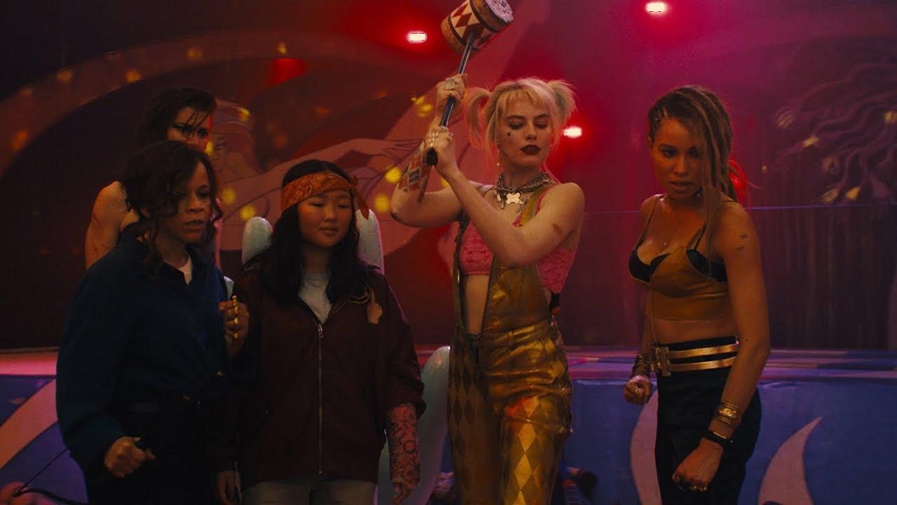 Novo comercial de Aves de Rapina tem muita ação e o grupo de Harley Quinn
