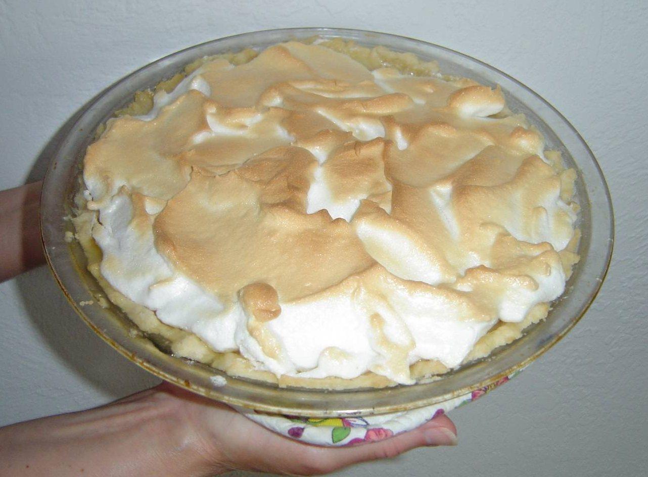 My Best Peanut Butter Pie with Meringue