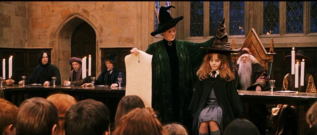 Harry Potter and the Sorcerer's Stone Alternate Sorting ... |Sorting Hat Scene