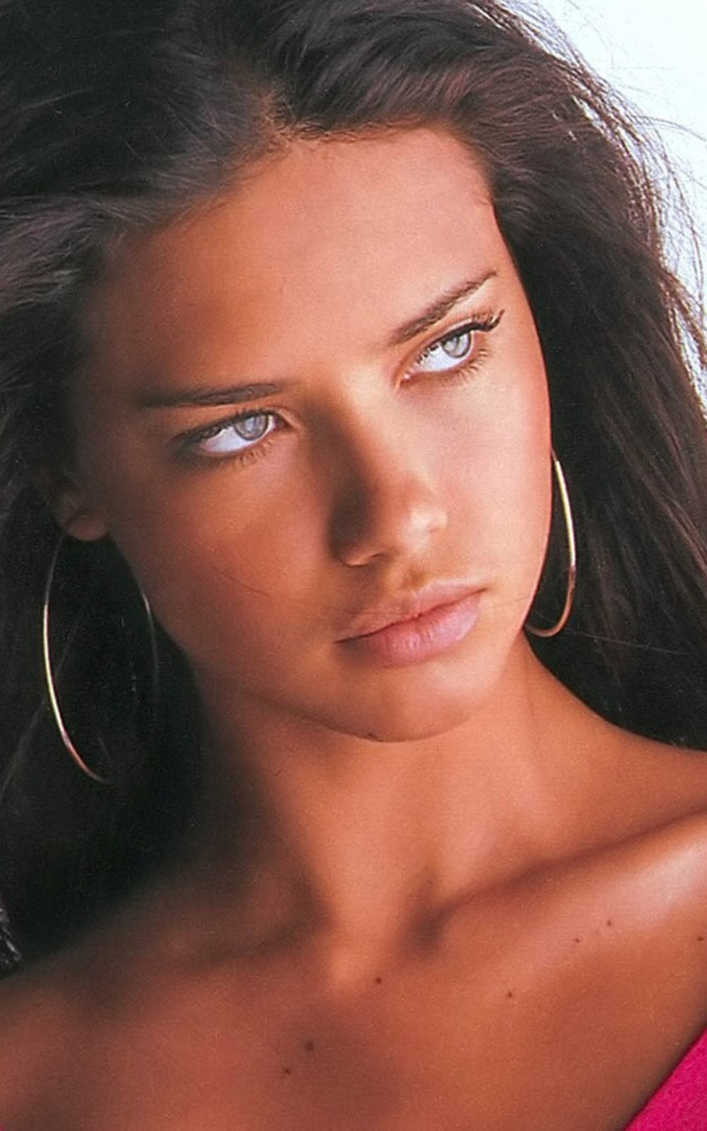 adriana lima, glamour, HD, hot, model, Sensual, sexy, supermodel, top model, victoria's secret, vogue, wallpaper