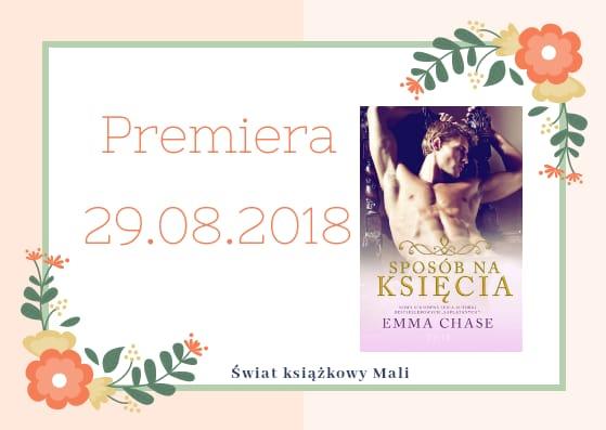 Emma Chase - Sposób na księcia - Wydawnictwo FILIA - Zapowiedź