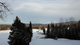 Saint-Jean-de-Matha, paysage, neige