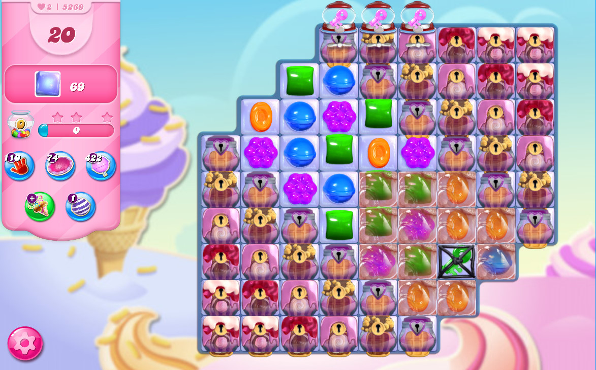 Candy Crush Saga level 5269