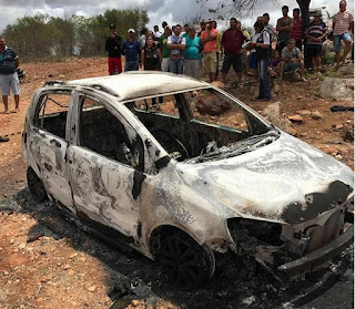 Polícia prende envolvidos no assassinato de comerciante carbonizado na zona rural de Pedra Lavrada