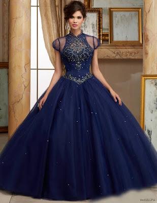 Vestidos de XV Azul