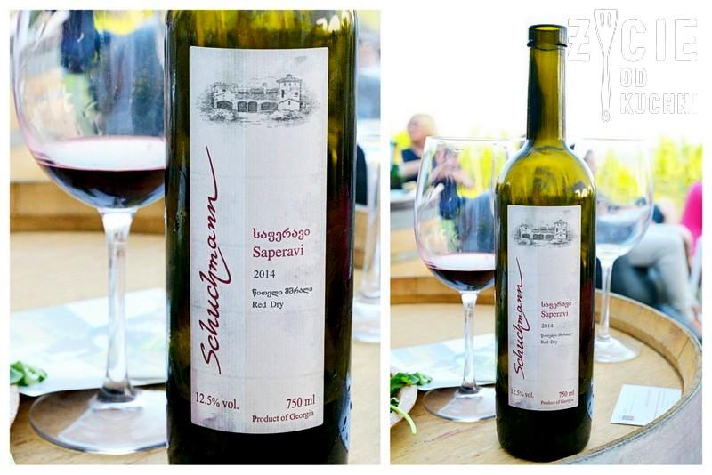Seperavi 2014 - Schuchmann, Interwin, gruzinskie wino, poznaj smak gruzji, gruzja, wino, malinova, zycie od kuchni, georgian wine agency, vinisfera