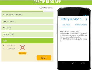 How to make free mobile App online-appsgeyser