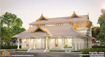 Beautiful And Stylish Kerala Traditional Home Design