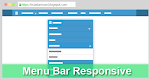 Membuat Menu Bar Drop Down Responsive